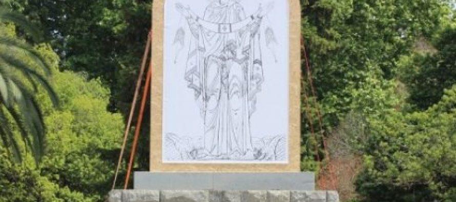 კახა მიქაია ზუგდიდის თავისუფლების მოედანზე ღვთისმშობლის ფრესკის აღმართვის წინააღმდეგია
