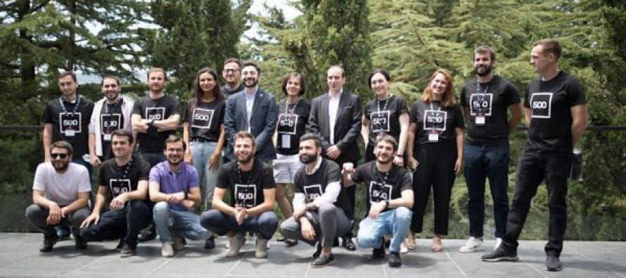 500 startups- ის პირველ ნაკადში შერჩეულ სტარტაპებთან შეხვედრა გაიმართა