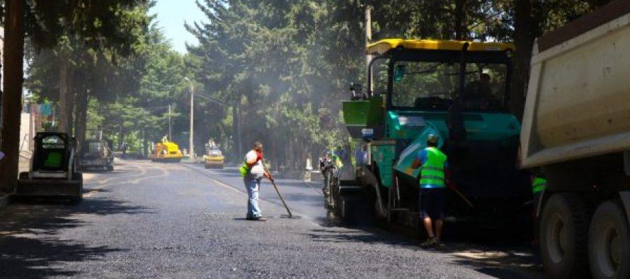 ქერჩის N6 კორპუსის მიმდებარედ გზის მოწესრიგების სამუშაოები მიმდინარეობს