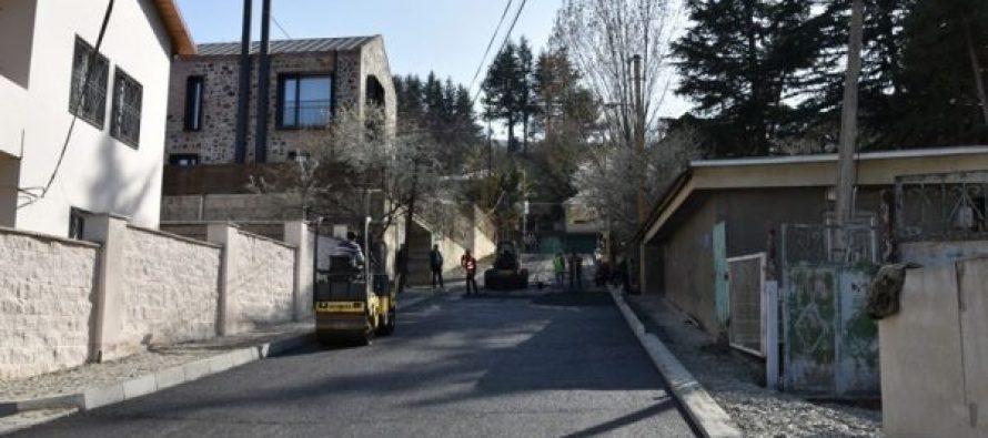 ვაკის რაიონში მიმდინარე წელს საგზაო ინფრასტრუქტურა 50-ზე მეტ მისამართზე განახლდა