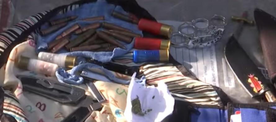 კახეთში მანქანის ჩხრეკისას იარაღი, საბრძოლო მასალა და ასაფეთქებელი მოწყობილობა ამოიღეს