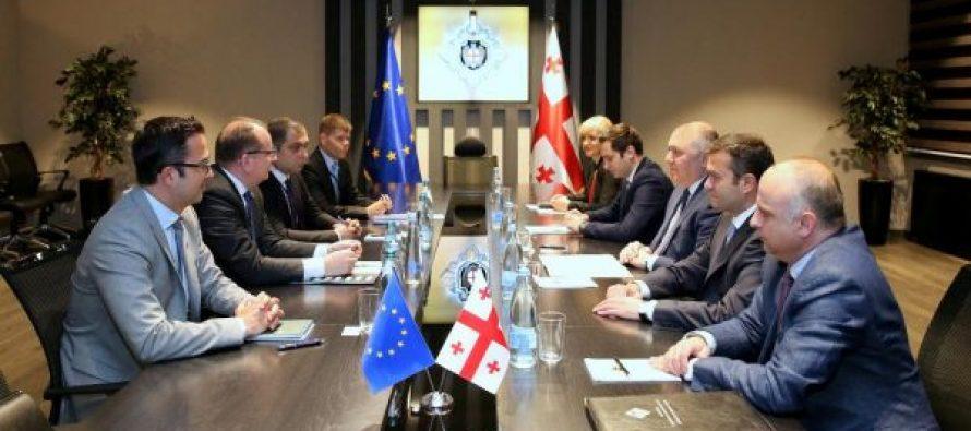 სახელმწიფო უსაფრთხოების სამსახურის უფროსი საქართველოში ევროკავშირის სადამკვირვებლო მისიის (EUMM) ახალ ხელმძღვანელს,  მარეკ შჩიგელს შეხვდა