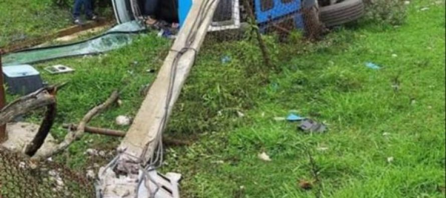 ხობის მუნიციპალიტეტის სოფელ პირველ ხორგაში ავტოსაგზაო შემთხვევა მოხდა