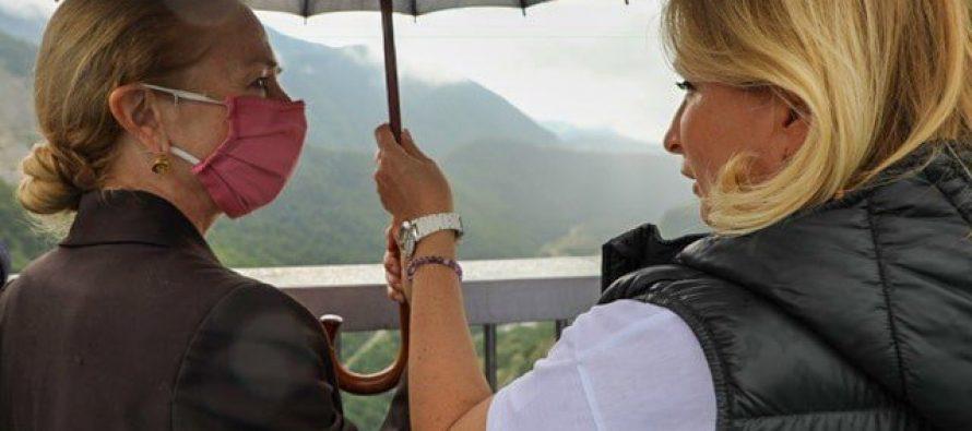 კელი დეგნანმა ნათია თურნავასა და ქალ ბიზნესმენებთან ერთად სამეგრელო-ზემო სვანეთში იმოგზაურა