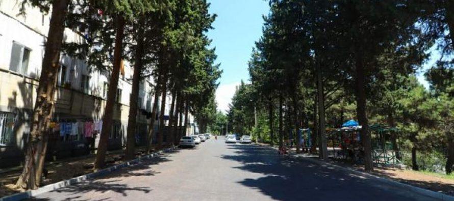 გლდანის რაიონში კიდევ რამდენიმე ქუჩის მოწყობა დასრულდა