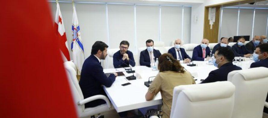 თბილისში საბაგიროს ორი პროექტი განხორციელდება