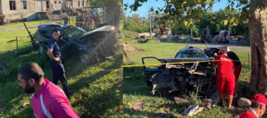 განმუხური-ანაკლიას გზაზე მომხდარ ავარიას 2 მორაგბე ემსხვერპლა