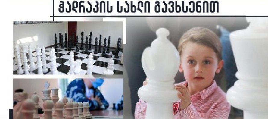სენაკში ჭადრაკის სახლი გაიხსნა