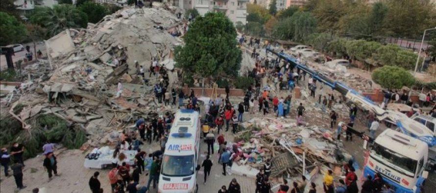 თურქეთში მიწისძვრის შედეგად დაშავებულთა რაოდენობა 152-მდე გაიზარდა