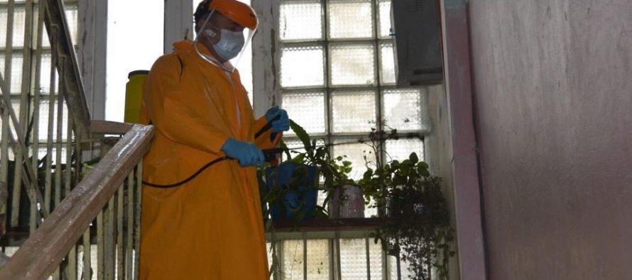 აბაშის მუნიციპალიტეტში სადეზინფექციო სამუშაოები გრძელდება