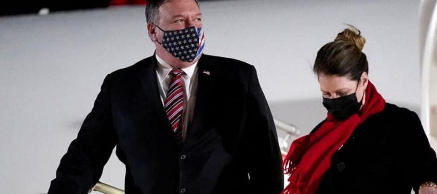 აშშ-ის საელჩო – მაიკ პომპეო განიხილავს საქართველოს დემოკრატიული ინსტიტუტების გაძლიერებისთვის საჭირო ძალისხმევას და ყურადღებას გაამახვილებს თავისუფალი და სამართლიანი არჩევნების მნიშვნელობაზე