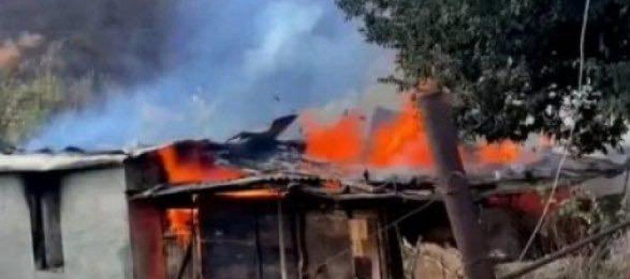 ყარაბაღში, სომხურმა მოსახლეობამ საკუთარი სოფელი შეცდომით გადაწვა