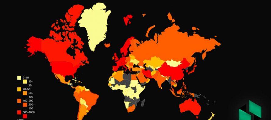 """კორონავირუსის სტატისტიკა მსოფლიოში უარესდება; გერმანიაში, შვედეთში, კვიპროსში, ლიეტუვასა და ლატვიაში გართულებული ეპიდვითარების გამო, ჩეხეთის მთავრობამ აღნიშნული ქვეყნები """"წითელ"""" ზონაში შეიყვანა"""