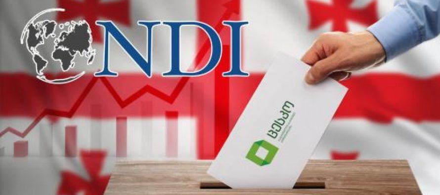 განიხილონ საჩივრები და ჩაატარომ განმეორებითი არჩევნები – NDI-ს რეკომენდაცია მთავრობას