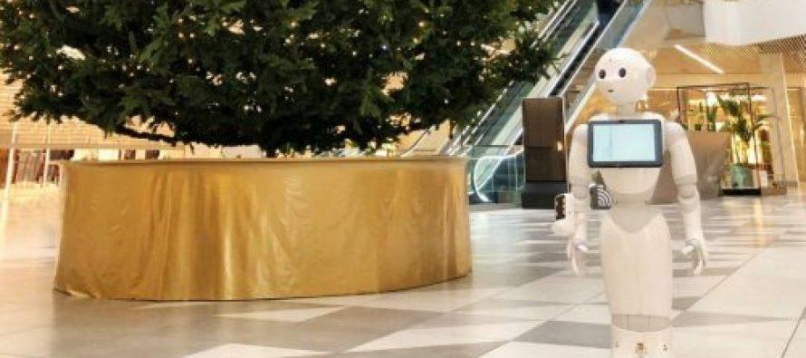 დღეიდან სავაჭრო ცენტრები გაიხსნა – City Mall-ში რობოტი პეპერი მუშაობს