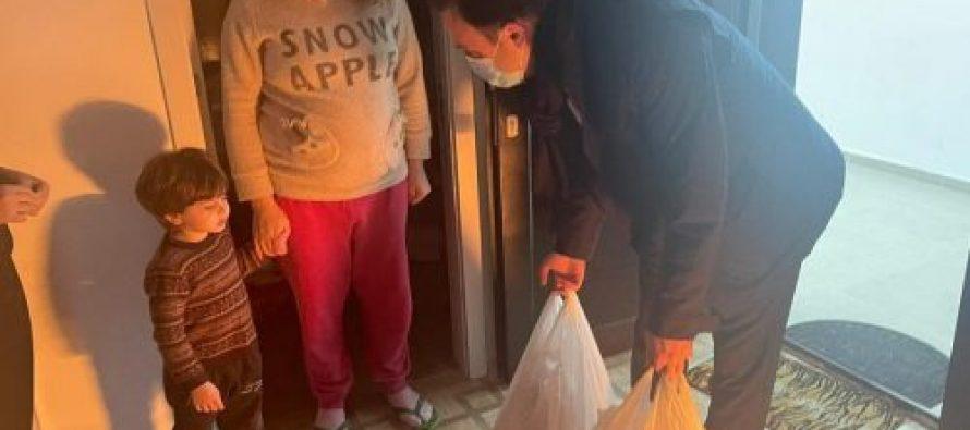 ირაკლი ზარქუამ  მრავალშვილიან ოჯახებს დამდეგი ახალი წელი მიულოცა