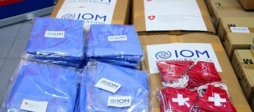 შსს-ს მიგრაციის დეპარტამენტს 40 000 ლარის ღირებულების თერმოსკრინინგის კამერები და პირადი დაცვის საშუალებები გადაეცა