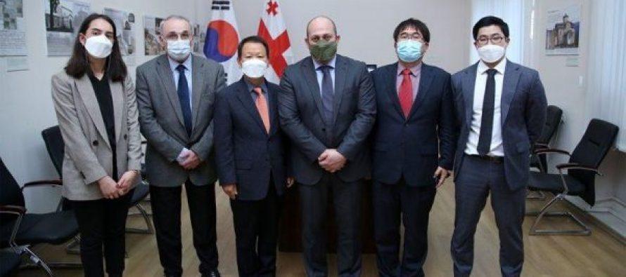 კორეის რესპუბლიკამ საქართველოს ჰუმანიტარული დახმარება გადასცა