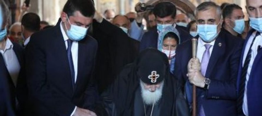 გიორგი გახარია სრულიად საქართველოს კათოლიკოს-პატრიარქ ილია მეორეს დაბადების დღეს ულოცავს