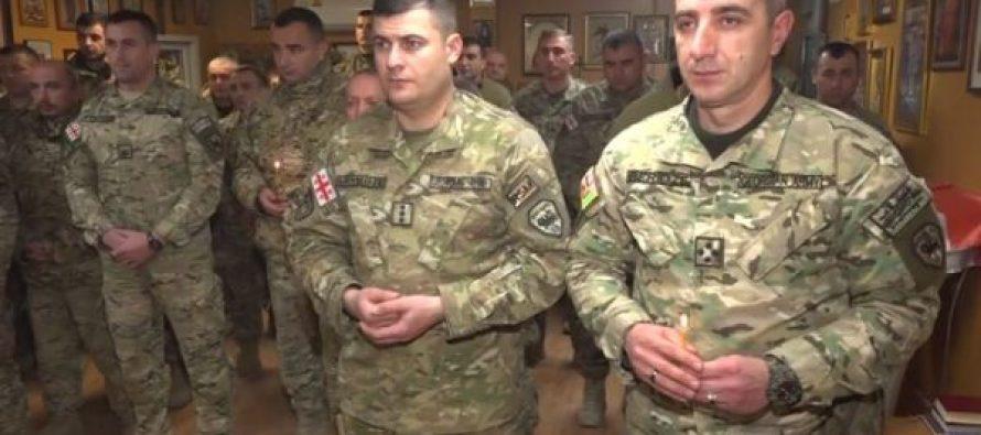 ავღანეთში ქართველმა სამხედროებმა შობის დღესასწაული აღნიშნეს