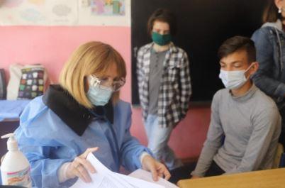 სკოლის მოსწავლეებს სამედიცინო გამოკვლევები ჩაუტარდათ