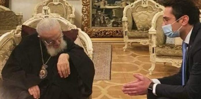 კუჭავა ილია II-ს შეხვდა