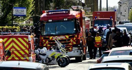 პოლიციელის მვვლელობა საფრანგეთი