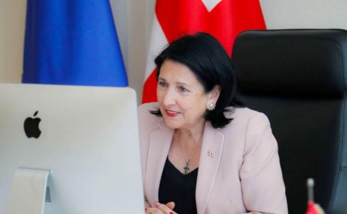საქართველოს და ესტონეთის პრეზიდენტები