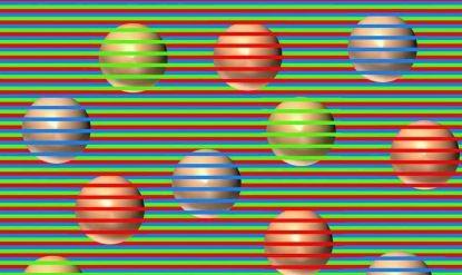 ბურთები სინამდვილეში ის ფერი არ არის, რასაც ხედავთ