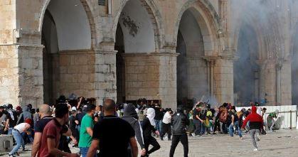 იერუსალიმში არეულობებისას ასობით პირი დაშავდა